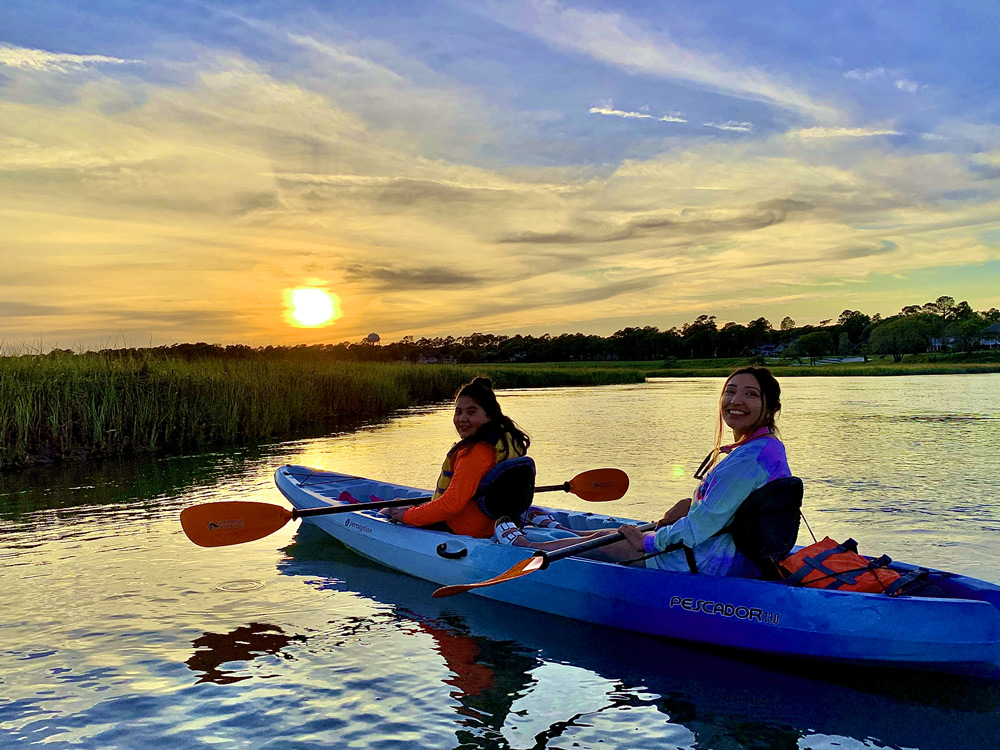 25% Off Tandem booking on our Marsh Sunset Tour